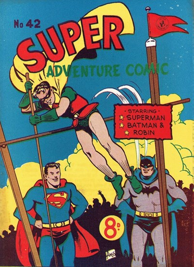 Super Adventure Comic (Colour Comics, 1950 series) #42 ([December 1953])