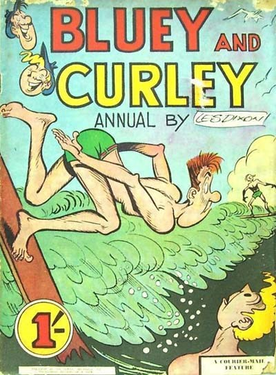 Bluey and Curley Annual (Herald, 1946? series)  (1957)