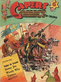 Capers Wholesome Comics for Children (Lush, 1948 series)