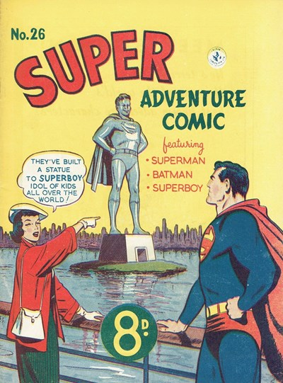 Super Adventure Comic (Colour Comics, 1950 series) #26 ([August 1952])