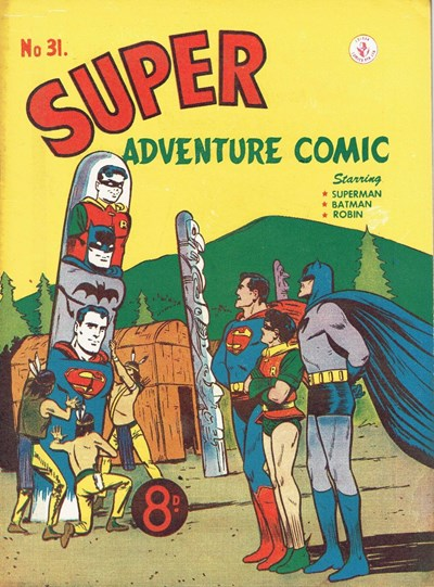 Super Adventure Comic (Colour Comics, 1950 series) #31 ([January 1953])
