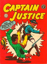 Captain Justice (Horwitz, 1963 series) #5 — Untitled (Cover)