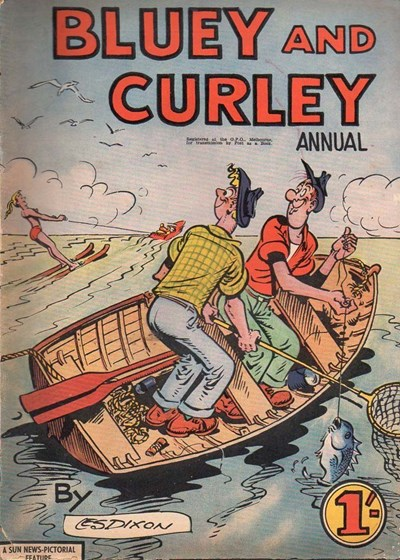 Bluey and Curley Annual (Herald, 1946? series)  ([1959?])