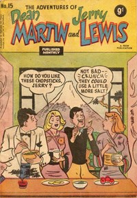 The Adventures of Dean Martin and Jerry Lewis (Frew, 1956 series) #15 ([March 1957?])