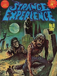 Strange Experience (Gredown, 1975 series) #8 — Untitled (Cover)