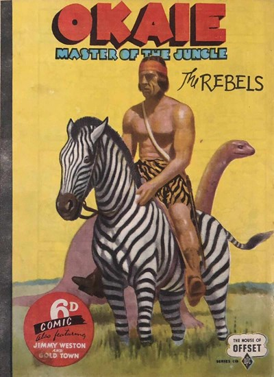 Okaie Master of the Jungle (OPC, 1945?) #C19 ([December 1945?])