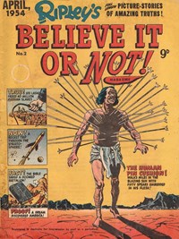 Ripley's Believe It or Not! Magazine (Magman, 1954 series) #2 (April 1954)