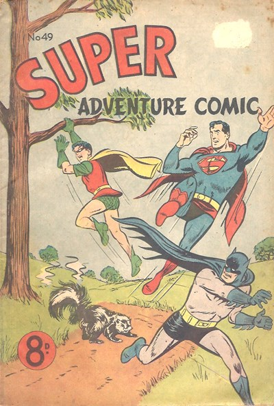 Super Adventure Comic (Colour Comics, 1950 series) #49 ([July 1954])