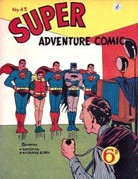 Super Adventure Comic (Colour Comics, 1952 series) #45 — Untitled
