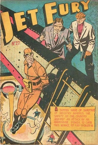 Jet Fury (Pyramid, 1951 series) #27 ([March 1952?])