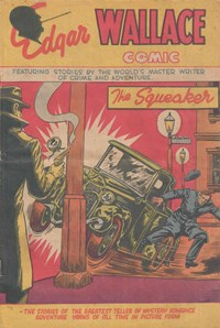 Edgar Wallace Comic (Young's, 1951 series) #5 — The Squeaker (Cover)