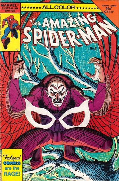 The Amazing Spider-Man (Federal, 1984 series) #8 ([July 1985])