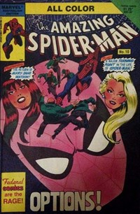 The Amazing Spider-Man (Federal, 1984 series) #10 — Options!