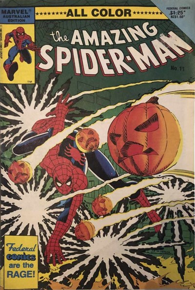 The Amazing Spider-Man (Federal, 1984 series) #11 ([1986?])