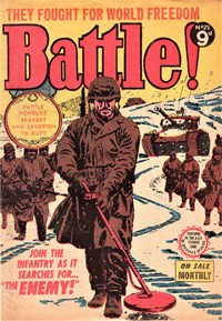 Battle! (Transport, 1953 series) #27 — The Enemy!