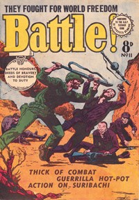 Battle! (Transport, 1953 series) #11 ([May 1954?])