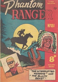 The Phantom Ranger (Western Promotions, 1950 series) #21 ([June 1951?])