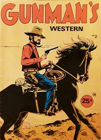 Gunman's Western (Yaffa/Page, 197-? series) #2 — Untitled (Cover)