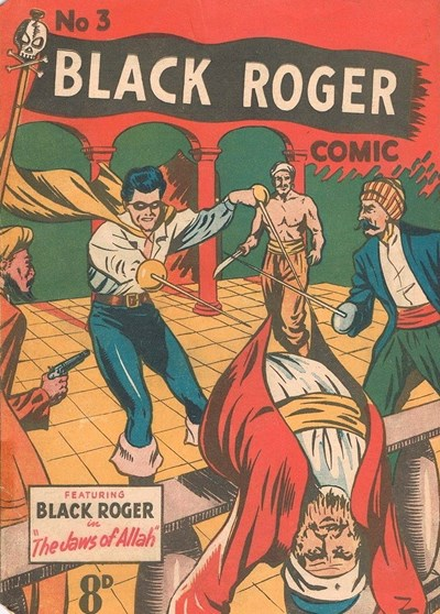 Black Roger Comic (Young's, 1952? series) #3 ([March 1952?])