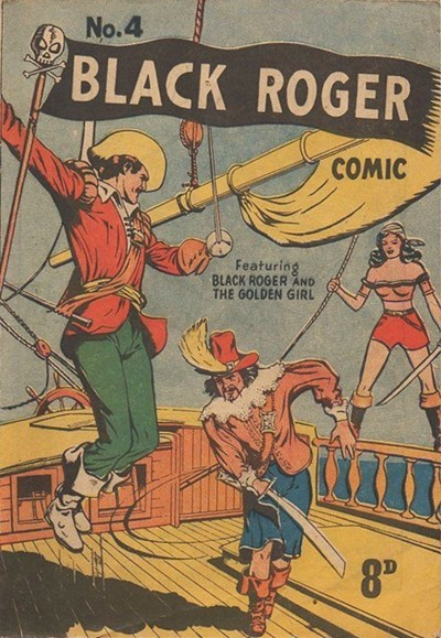 Black Roger Comic (Young's, 1952? series) #4 (April 1952)