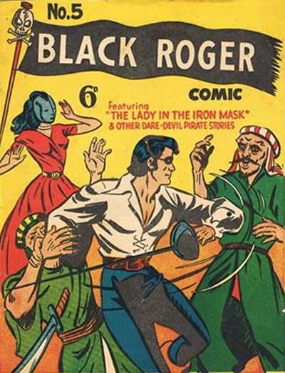 Black Roger (Young's, 1955? series) #5 ([1955??])