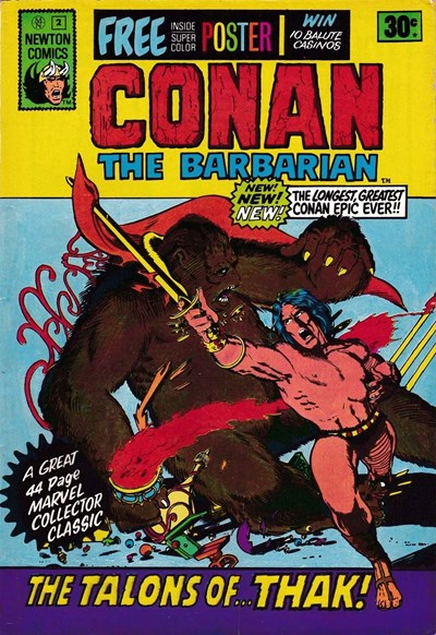 Conan The Barbarian (Newton, 1975 series) #2 ([June 1975?])