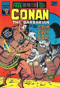 Conan The Barbarian (Newton, 1975 series) #3 — The Grim Grey God!
