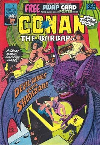 Conan The Barbarian (Newton, 1975 series) #5 — Devil-Wings over Shadizar!