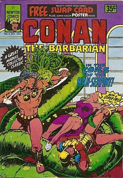 Conan The Barbarian (Newton, 1975 series) #6 (October 1975)