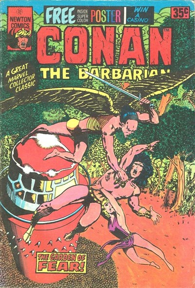 Conan The Barbarian (Newton, 1975 series) #7 ([October 1975?])