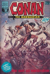 Conan The Barbarian (Newton, 1975 series) #11