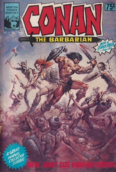 Conan The Barbarian (Newton, 1975 series) #11 (December 1975)