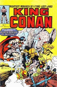 King Conan (Yaffa/Page, 1977? series) #1 — Black Sphinx of Nebthu!
