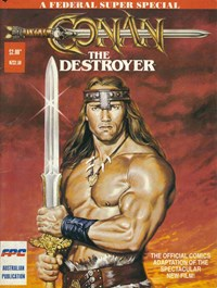 Conan the Destroyer (Federal, 1985?)  ([1985?])