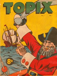 Topix (Catholic Press, 1954 series) v1#1