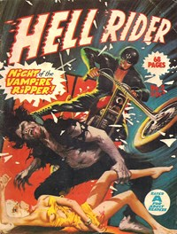 Hell Rider (Gredown, 1976 series) #2 — Night of the Vampire Ripper (Cover)