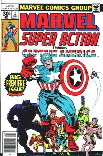 Marvel Super Action (Marvel, 1977 series) #1  (May 1977)
