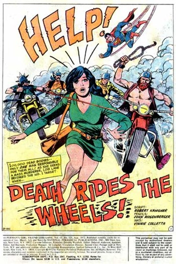 Superman's Girl Friend, Lois Lane (DC, 1958 series) #125 — Death Rides the Wheels! (page 1)