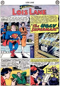 Superman's Girl Friend, Lois Lane (DC, 1958 series) #8 — The Ugly Superman! (page 1)