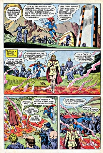 Action Comics (DC, 1938 series) #406 — Master of Miracles! (page 11)
