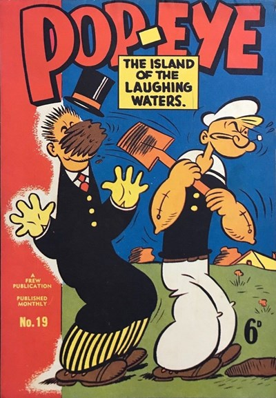 Pop-Eye (Frew, 1949 series) #19 ([October 1950?])