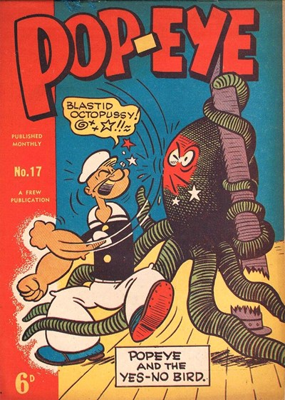 Pop-Eye (Frew, 1949 series) #17 ([August 1950?])