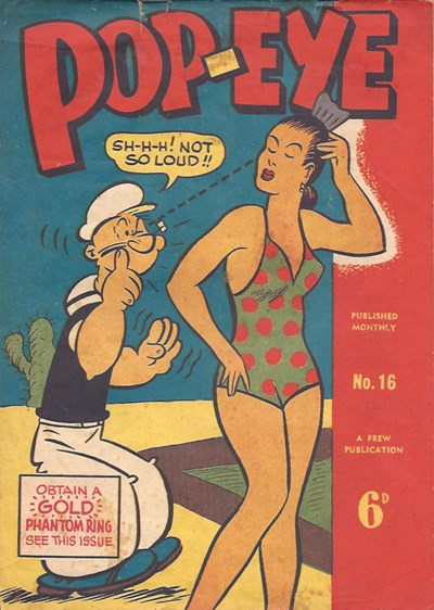 Pop-Eye (Frew, 1949 series) #16 ([July 1950?])