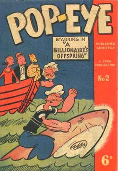 Pop-Eye (Frew, 1949 series) #2 ([May 1949?])