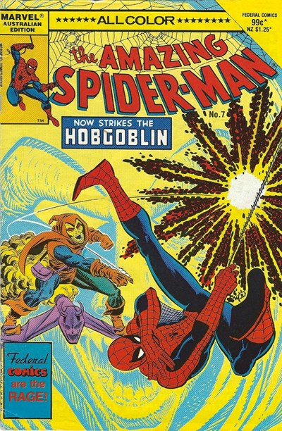 The Amazing Spider-Man (Federal, 1984 series) #7 ([June 1985?])