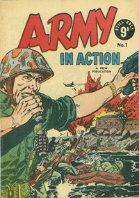 Army in Action (Frew, 1956? series) #1