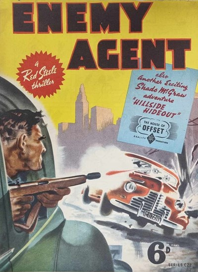 Enemy Agent (OPC, 1946?) #C22 ([March 1946?])
