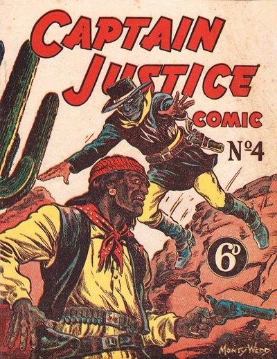 Captain Justice (New Century, 1950 series) #4 ([March 1951?])