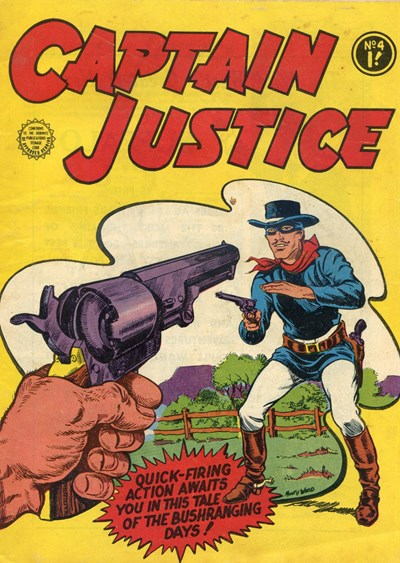 Captain Justice (Horwitz, 1963 series) #4 (July 1963)