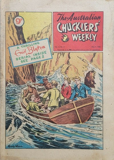 The Australian Chucklers' Weekly (ACP, 1958 series) v5#2 (9 May 1958)